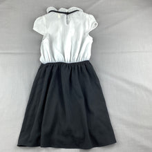 Load image into Gallery viewer, Girls Monteau Girl, chic lightweight black & white party dress, GUC, size 5