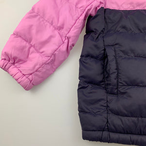 Girls Uniqlo, lightweight puffer jacket / coat, GUC, size 3