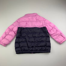 Load image into Gallery viewer, Girls Uniqlo, lightweight puffer jacket / coat, GUC, size 3
