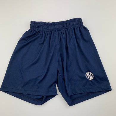 Boys All Sports Direct, navy activewear shorts, GUC, size 6