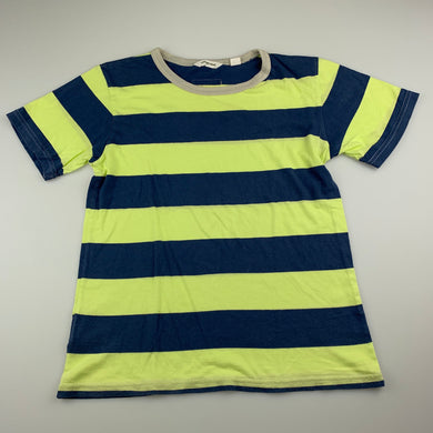 Boys Country Road, striped soft cotton t-shirt / top, GUC, size 8