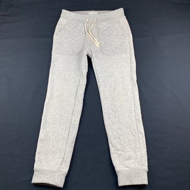 Unisex Country Road, grey cotton track / sweat pants, Inside leg: 51cm, GUC, size 6