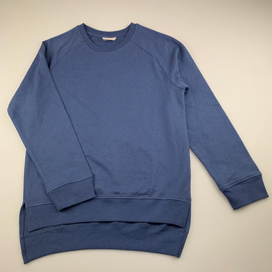 Unisex B Collection, blue lightweight sweater / top, NEVER WORN, EUC, size 10
