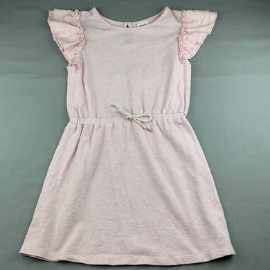 Girls Seed, pink cotton casual dress, EUC, size 10