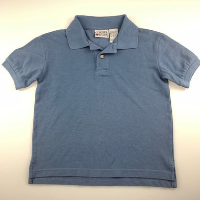 Boys Corner Stone, blue polo shirt / top, GUC, size 5