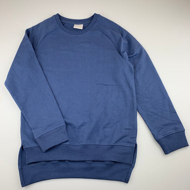 Unisex B Collection, blue lightweight sweater / jumper, EUC, size 10