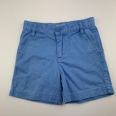 Boys Pumpkin Patch, blue cotton shorts, adjustable, GUC, size 2