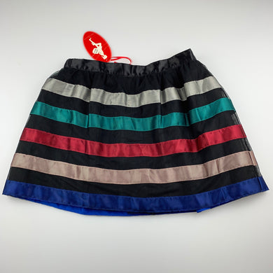 Girls Miss Leona, lined tulle party skirt, elasticated, L: 35cm, NEW, size 9