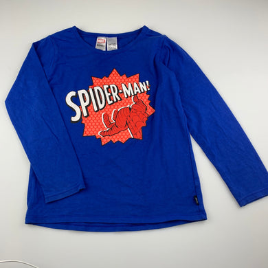 Boys Bonds, Marvel Spiderman pyjama top, EUC, size 7