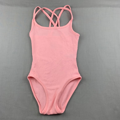 Girls Active & Co, pink ballet / dance leotard, EUC, size 4-6