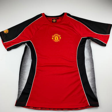 Boys Manchester United, Football t-shirt / top, GUC, size 12