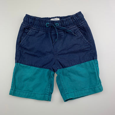 Boys Pumpkin Patch, cotton shorts, elasticated, GUC, size 2