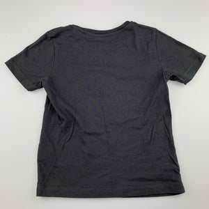 Boys Favourites, grey cotton t-shirt / top, GUC, size 4