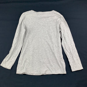Girls Miss Understood, grey long sleeve t-shirt / top, kitten, FUC, size 8