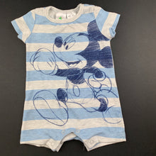 Load image into Gallery viewer, Boys Disney Baby, Mickey Mouse soft feel romper, GUC, size 0000