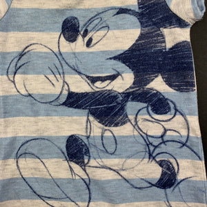 Boys Disney Baby, Mickey Mouse soft feel romper, GUC, size 0000
