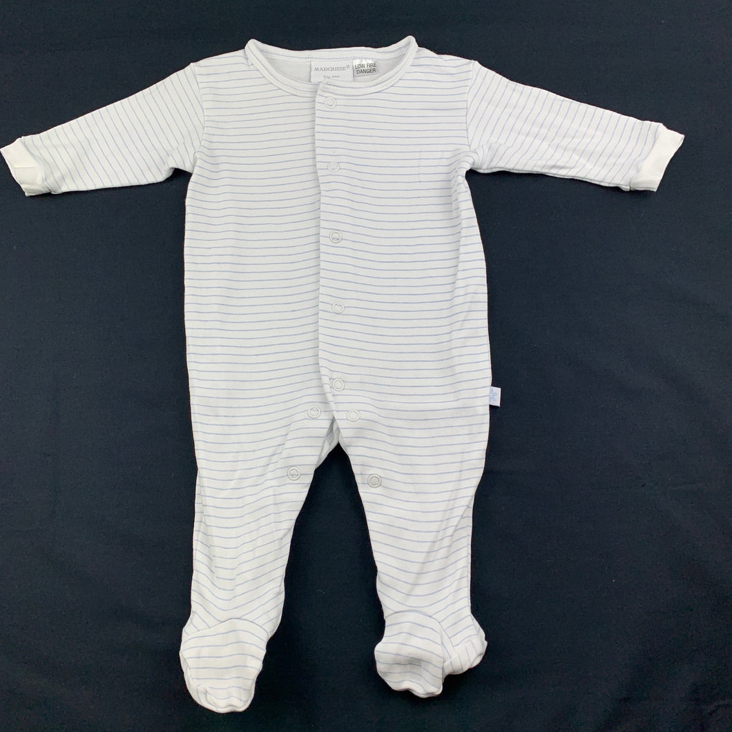 Boys Marquise, soft cotton coverall / romper, EUC, size 000
