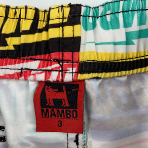 Boys Mambo, lightweight shorts / board shorts, elasticated, FUC, size 3
