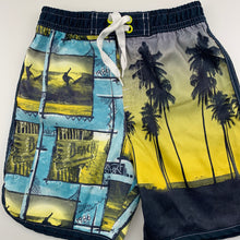 Load image into Gallery viewer, Boys H&T, lightweight shorts / board shorts, elasticated, GUC, size 3