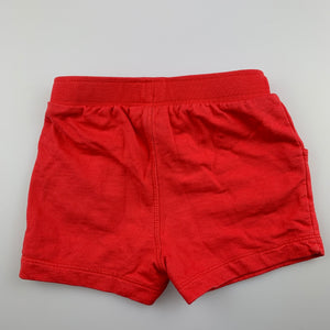 Unisex Target, knit cotton shorts, elasticated, GUC, size 0