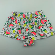 Load image into Gallery viewer, Girls Target, cotton shorts, elasticated, pineapples, GUC, size 3-4