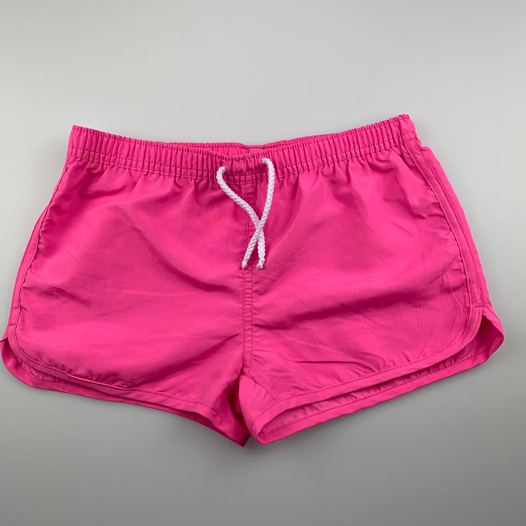 Girls Miss Understood, lightweight shorts / board shorts, elasticated, GUC, size 10