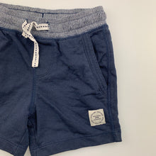 Load image into Gallery viewer, Boys Target, navy knit shorts, elasticated, GUC, size 2