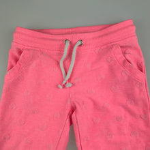 Load image into Gallery viewer, Girls Target, pink track  sweat pants, elasticated, GUC, size 2