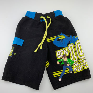 Boys Cartoon Network, Ben 10 lightweight shorts / board shorts, GUC, size 5