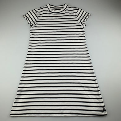 Girls Future You, soft stretchy striped t-shirt dress, EUC, size 10