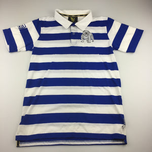 Boys Team NRL, Canterbury Bulldogs polo shirt, GUC, size 12