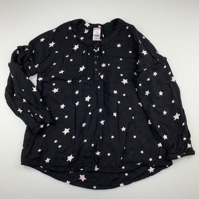Girls Clothing & Co, lightweight long sleeve top, stars, EUC, size 10