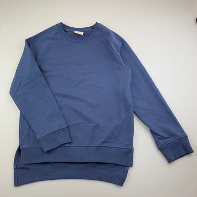 Unisex B Collection, blue lightweight sweater / jumper, FUC, size 10
