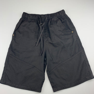 Boys Emerson, black casual shorts, elasticated, GUC, size 12