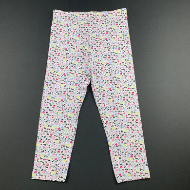 Girls Dymples, floral stretchy leggings / bottoms, EUC, size 2