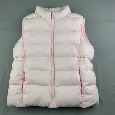 Girls Seed, cotton lined thick puffer vest / jacket, GUC, size 7