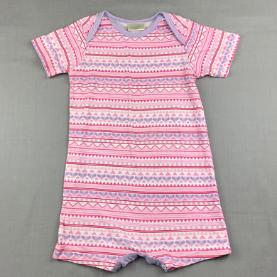 Girls Real Baby, lightweight cotton romper, EUC, size 2