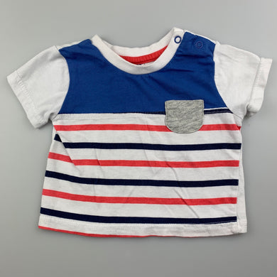 Boys Ackermans Baby Co, soft cotton t-shirt / top, GUC, size 000