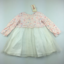 Load image into Gallery viewer, Girls Sprout, lightweight party dress, tulle skirt, NEW, size 0