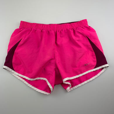 Girls Nike, lined running / activewear shorts, Size: Small, EUC, size 8-9