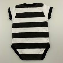 Load image into Gallery viewer, Unisex Amsterdam Designs, cotton bodysuit / romper, GUC, size 000