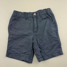 Load image into Gallery viewer, Boys Target, blue cotton shorts, adjustable, EUC, size 5