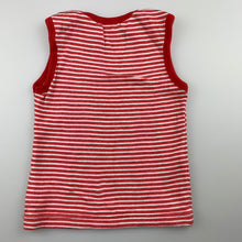 Load image into Gallery viewer, Unisex purebaby, soft organic cotton singlet top, EUC, size 00