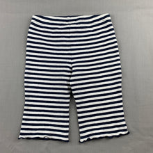 Load image into Gallery viewer, Girls Dymples, navy stripe stretchy bottoms, FUC, size 1
