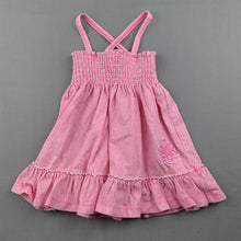 Load image into Gallery viewer, Girls Target, pink stripe soft cotton summer dress, EUC, size 0