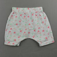Load image into Gallery viewer, Girls Target, cotton pyjama shorts, stars, GUC, size 0