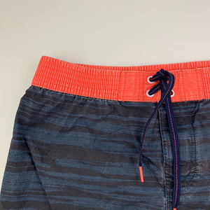 Boys Target, lightweight board shorts, elasticated, FUC, size 10
