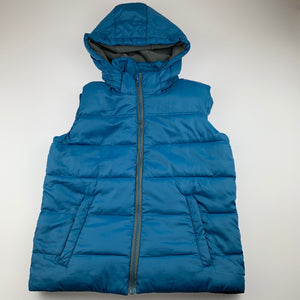 Boys L&D, fleece lined puffer vest / jacket, FUC, size 12