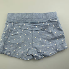 Load image into Gallery viewer, Girls Cotton On, blue cotton shorts, elasticated, GUC, size 2
