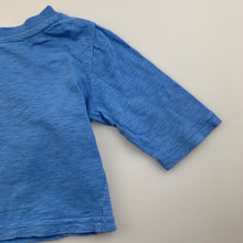 Load image into Gallery viewer, Boys Dymples, blue cotton long sleeve top, truck, FUC, size 00
